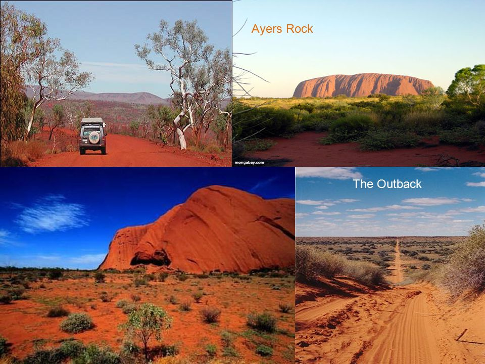 Ayers Rock The Outback