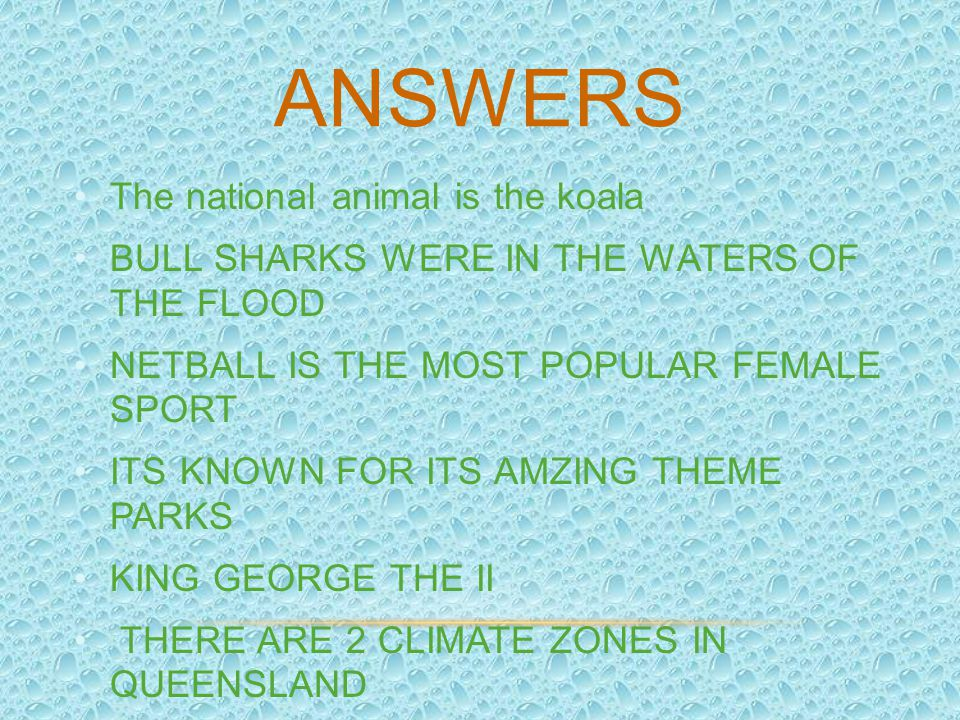 Answers The national animal is the koala
