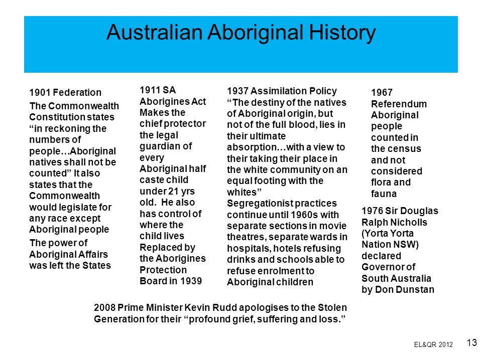 Australian Aboriginal History