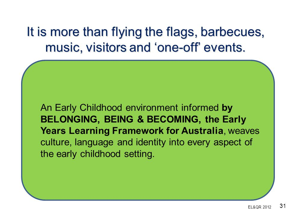It is more than flying the flags, barbecues, music, visitors and 'one-off' events.