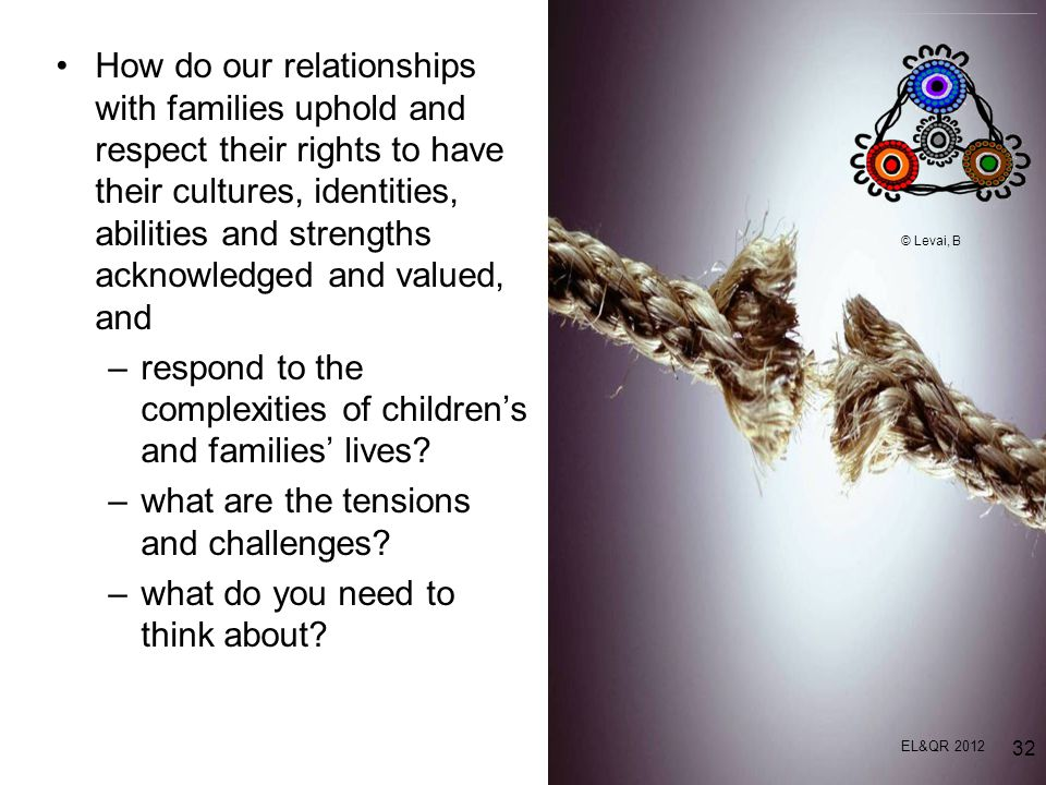 respond to the complexities of children's and families' lives