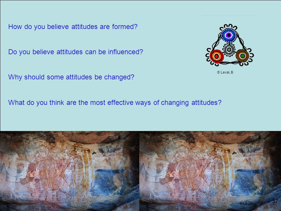 How do you believe attitudes are formed