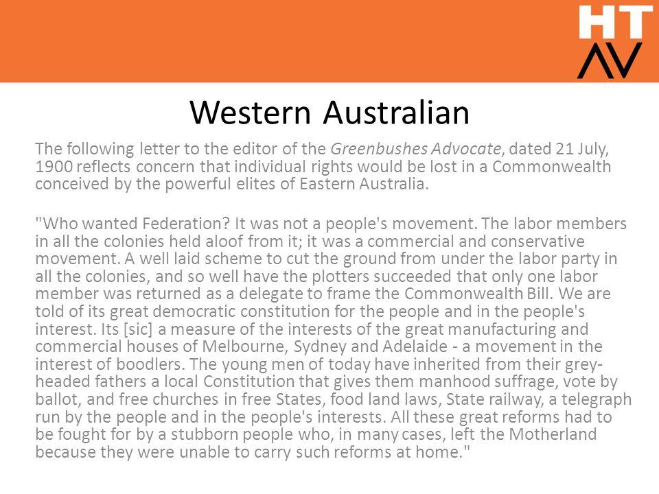 Western Australian