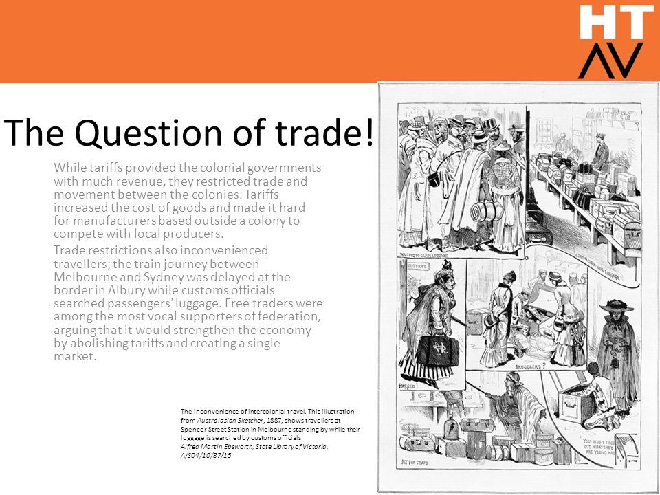 The Question of trade!