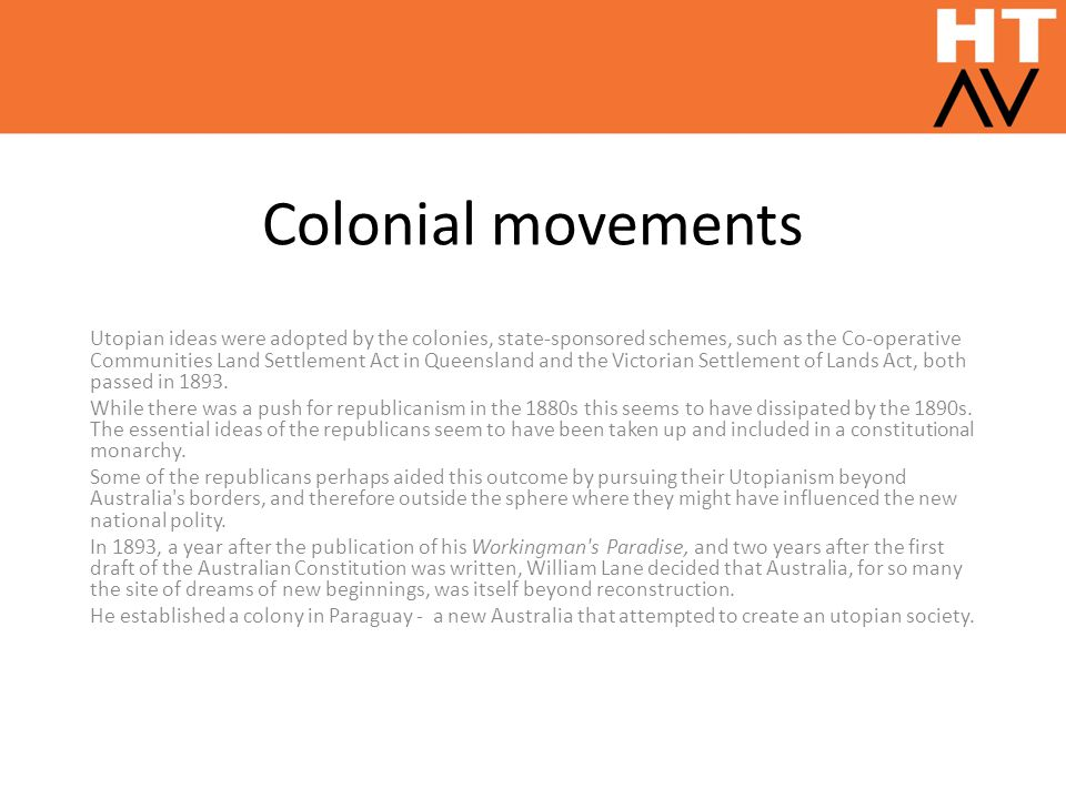 Colonial movements