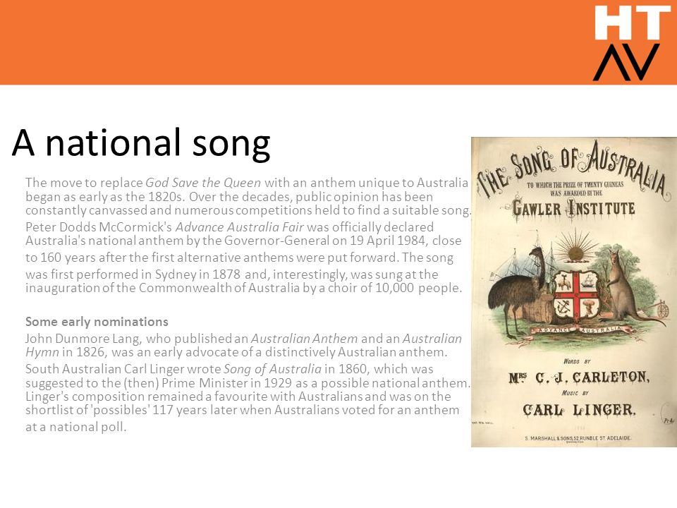 A national song