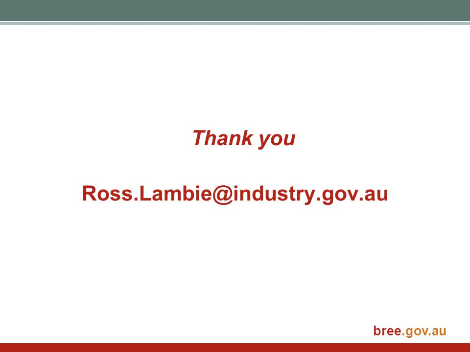 Thank you Ross.Lambie@industry.gov.au
