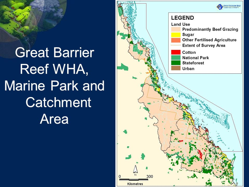 Great Barrier Reef WHA, Marine Park and Catchment Area
