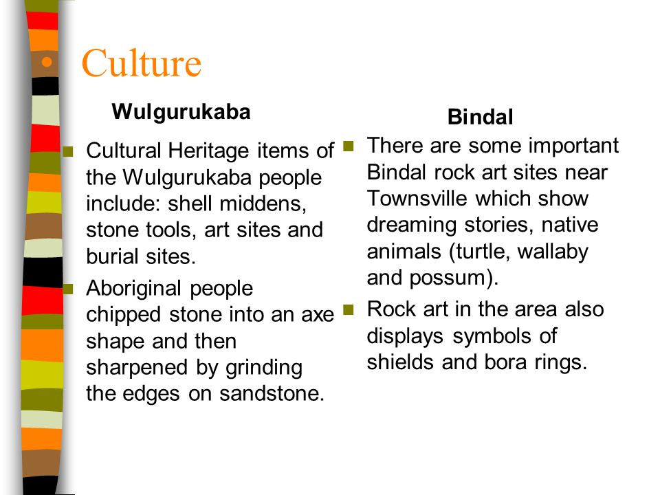 Culture Wulgurukaba Bindal