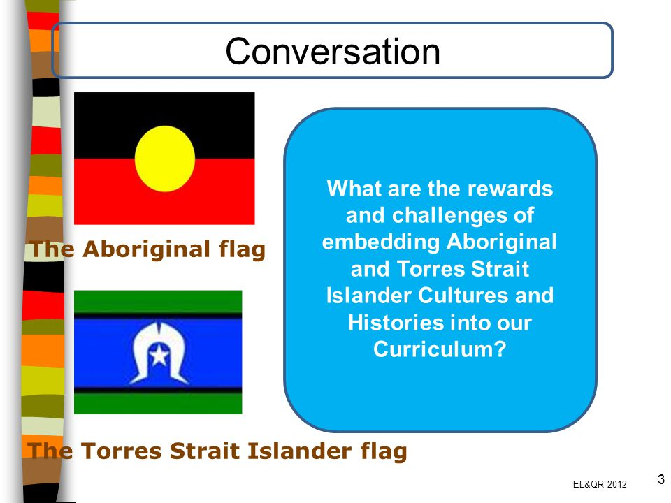 Conversation What are the rewards and challenges of embedding Aboriginal and Torres Strait Islander Cultures and Histories into our Curriculum