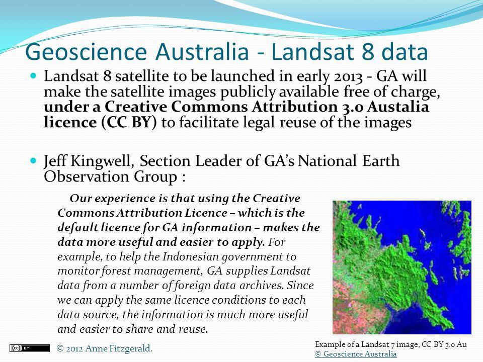 Geoscience Australia - Landsat 8 data