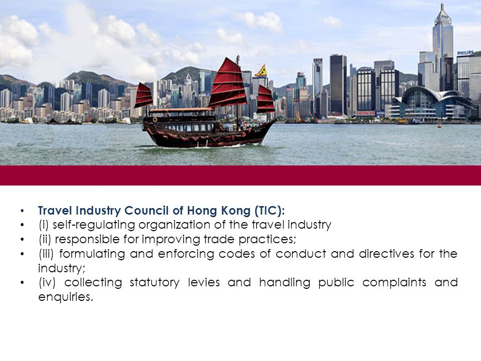 Travel Industry Council of Hong Kong (TIC):
