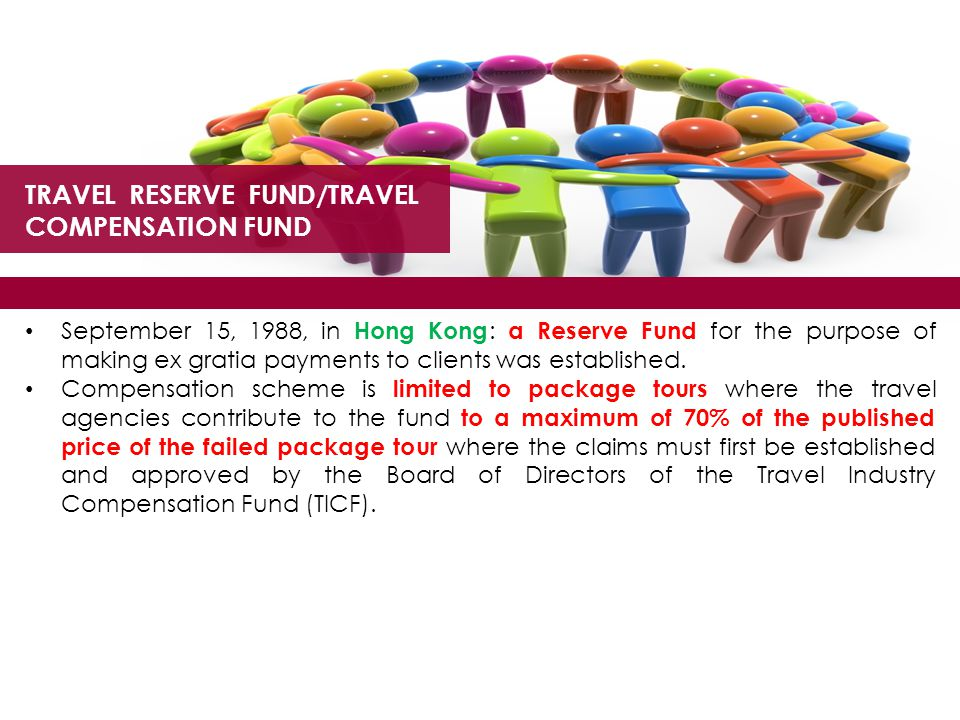TRAVEL RESERVE FUND/TRAVEL COMPENSATION FUND