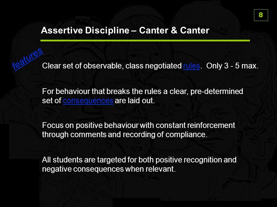 Assertive Discipline – Canter & Canter