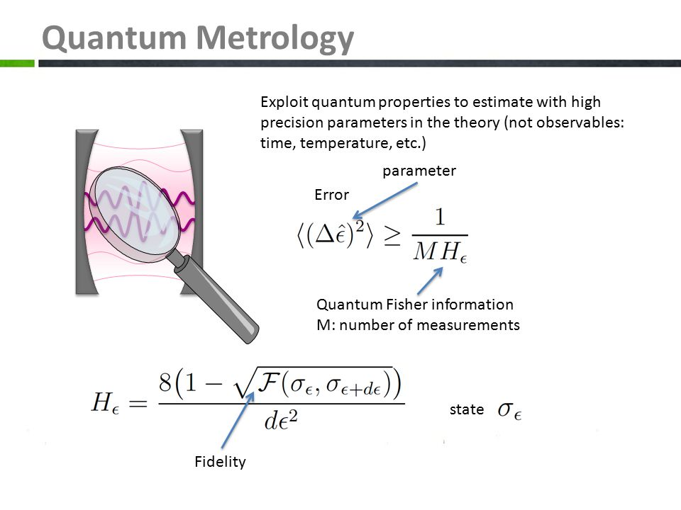 Quantum Metrology 3. The output