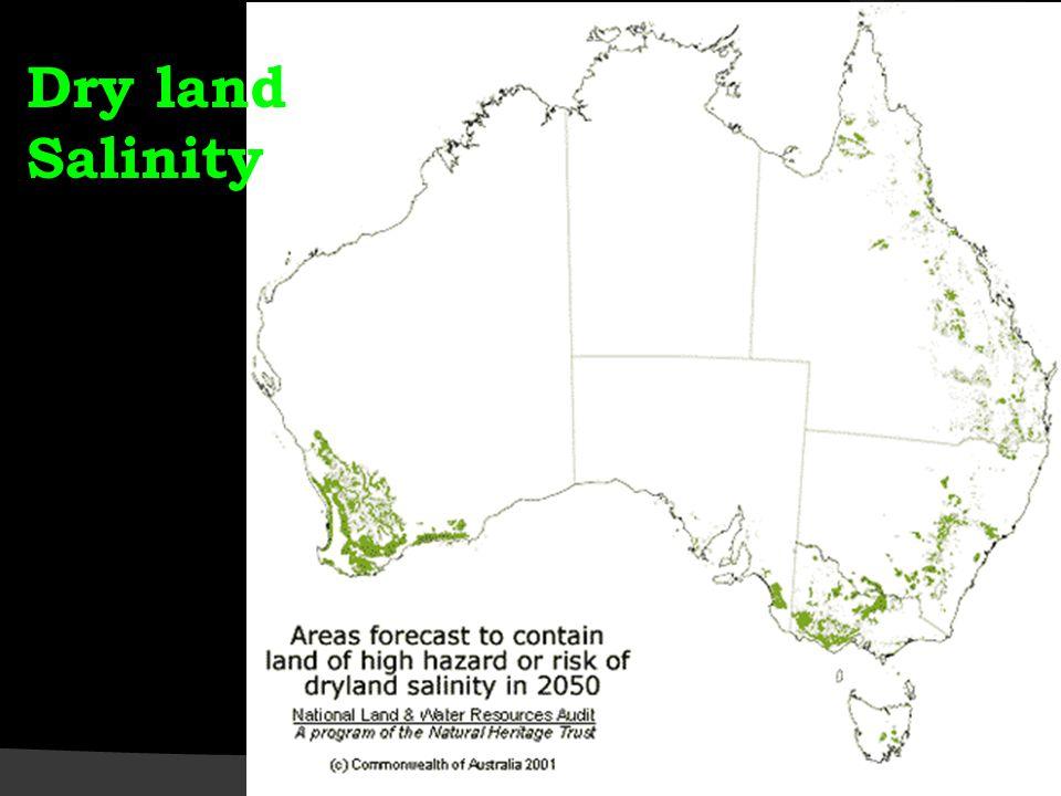 Dry land Salinity