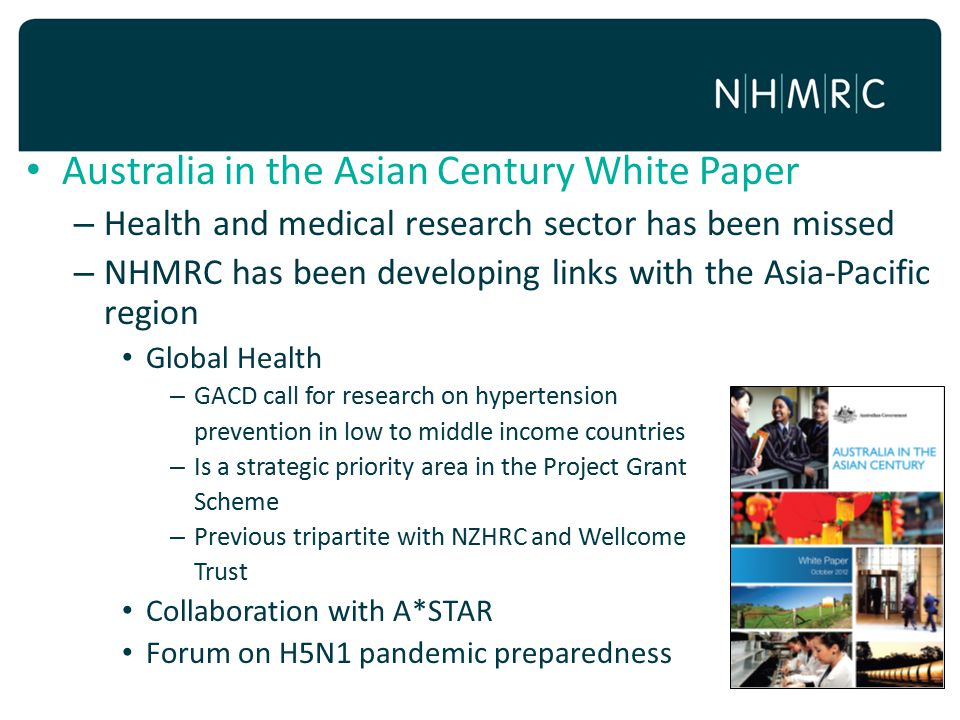 Australia in the Asian Century White Paper