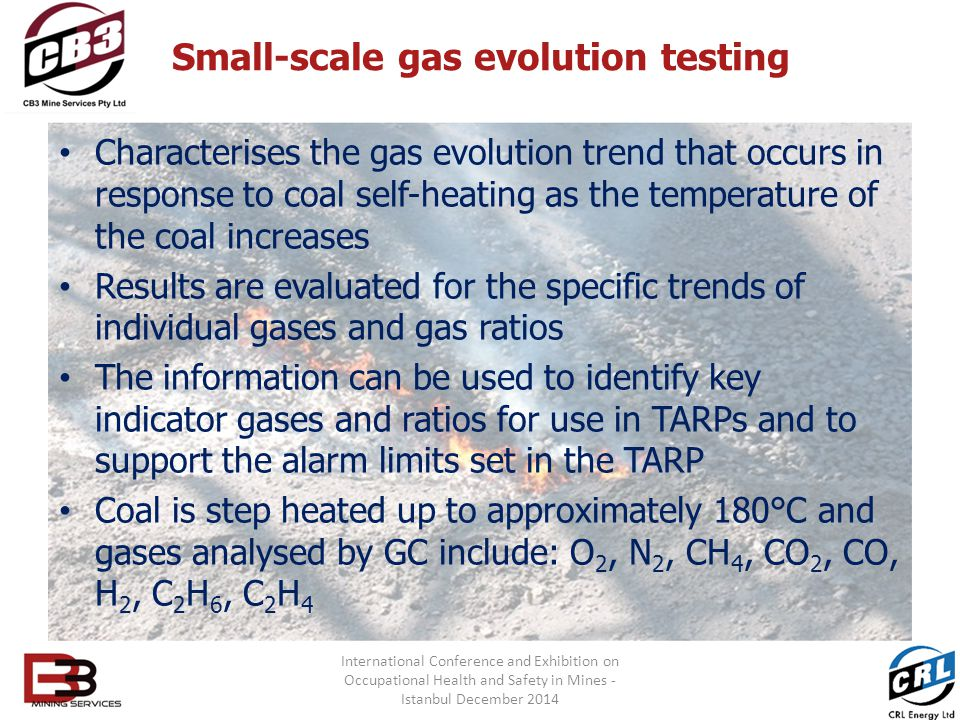 Small-scale gas evolution testing