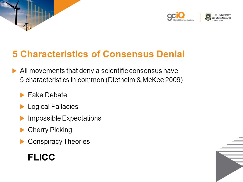 5 Characteristics of Consensus Denial