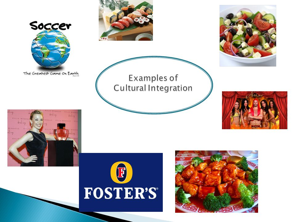 Examples of Cultural Integration