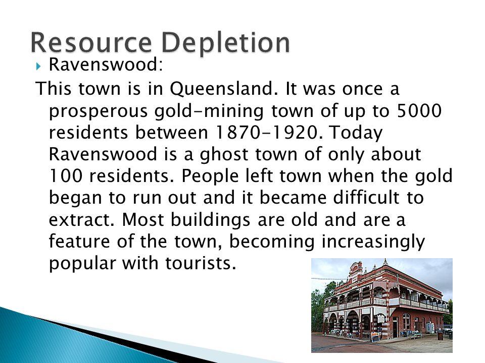 Resource Depletion Ravenswood: