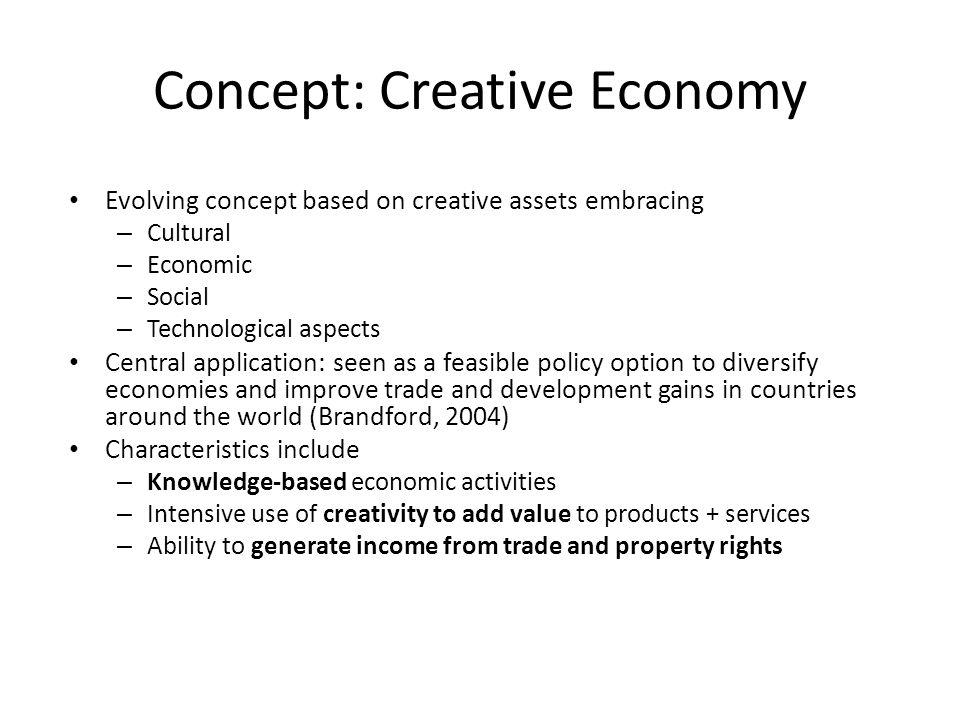 Concept: Creative Economy