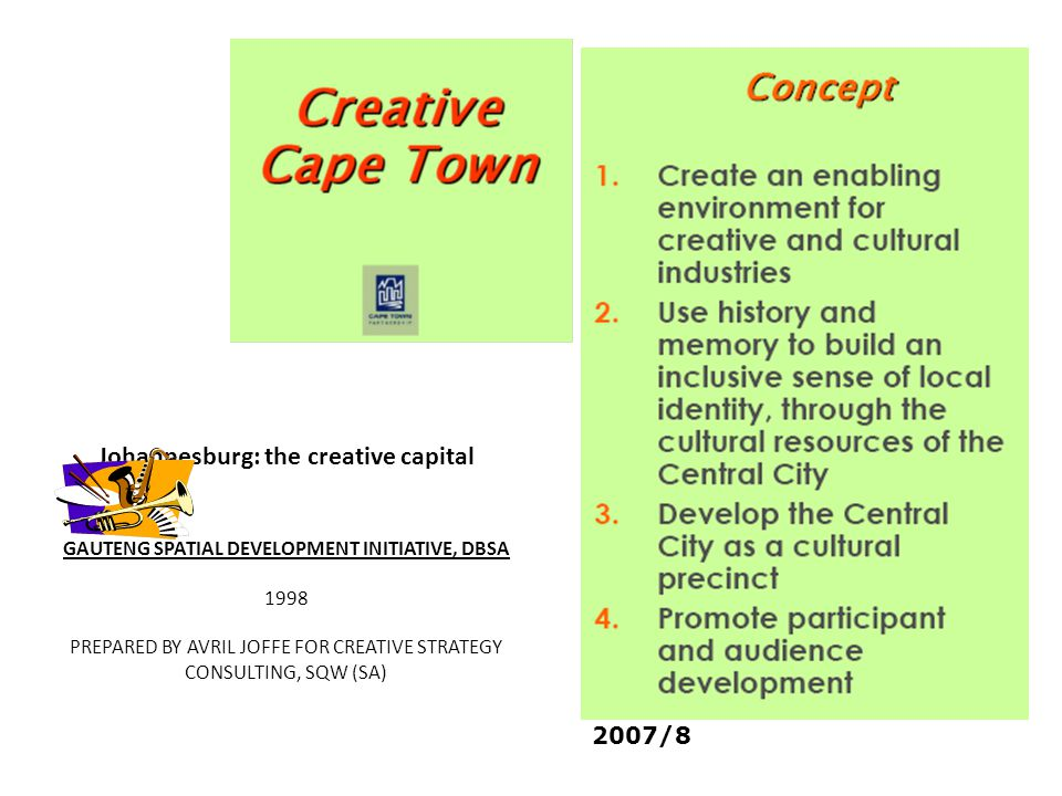 Johannesburg: the creative capital