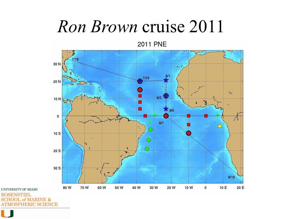 Ron Brown cruise 2011