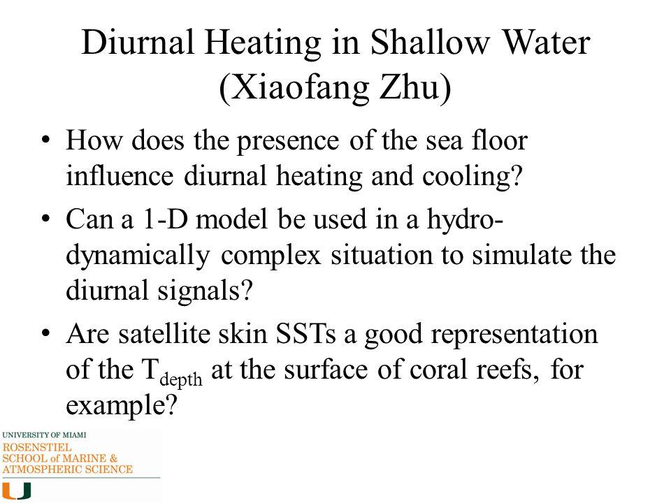 Diurnal Heating in Shallow Water (Xiaofang Zhu)