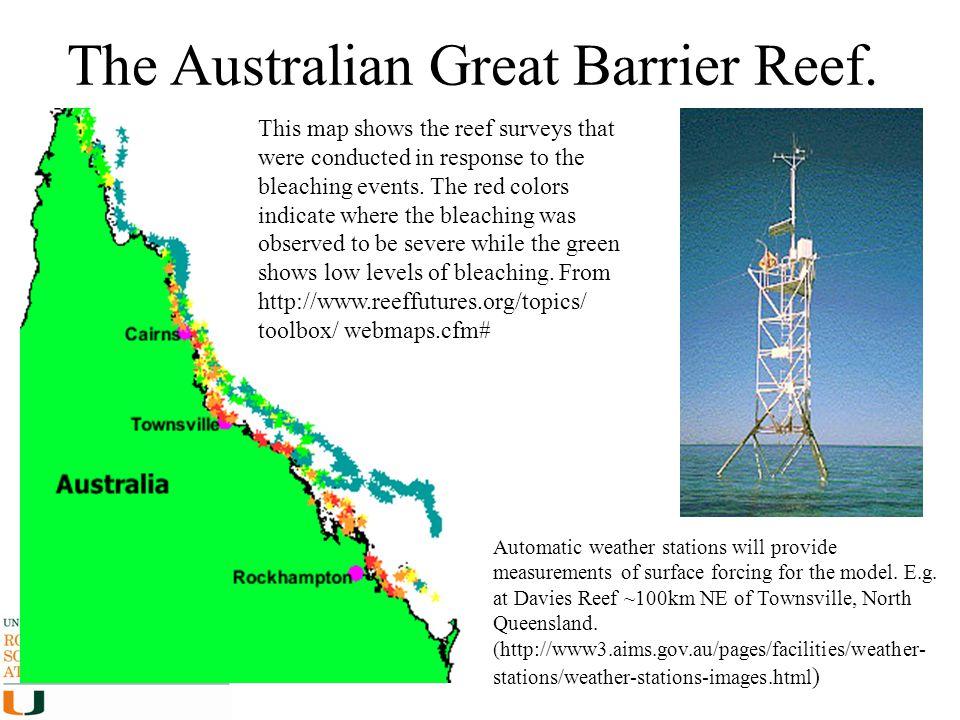 The Australian Great Barrier Reef.