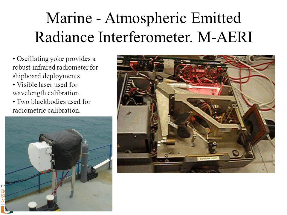 Marine - Atmospheric Emitted Radiance Interferometer. M-AERI