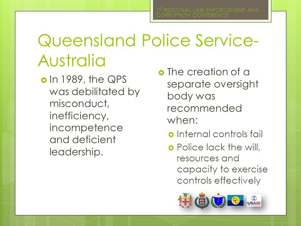 Queensland Police Service- Australia