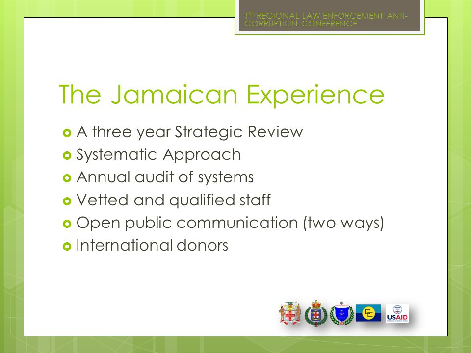 The Jamaican Experience