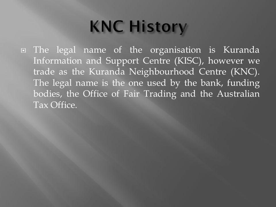KNC History