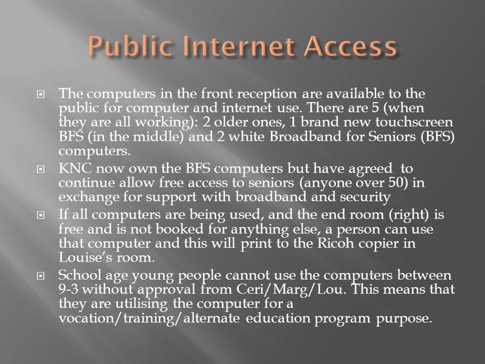 Public Internet Access