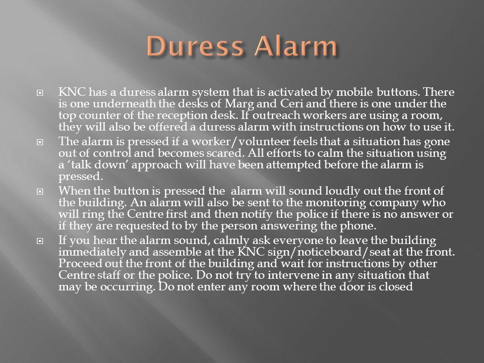 Duress Alarm