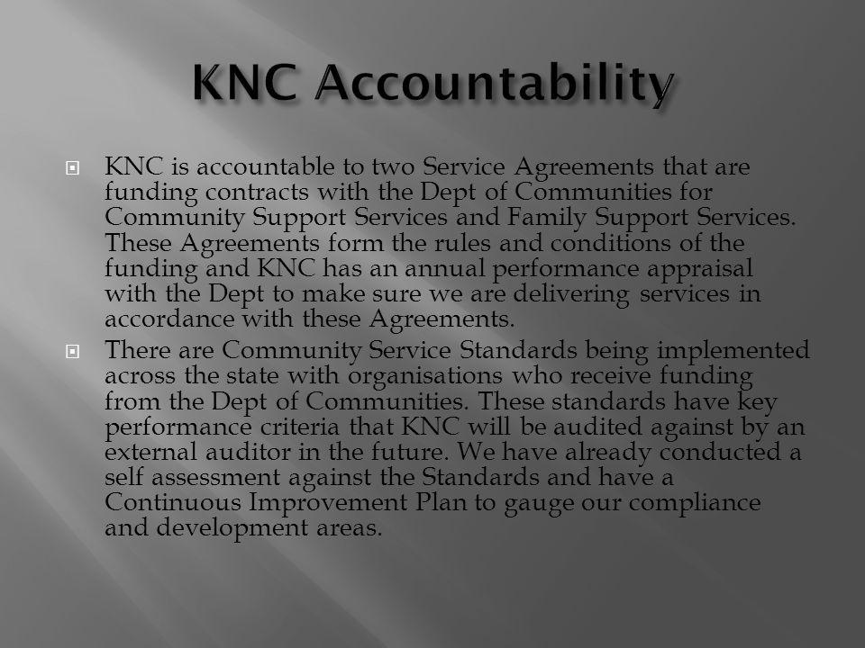 KNC Accountability