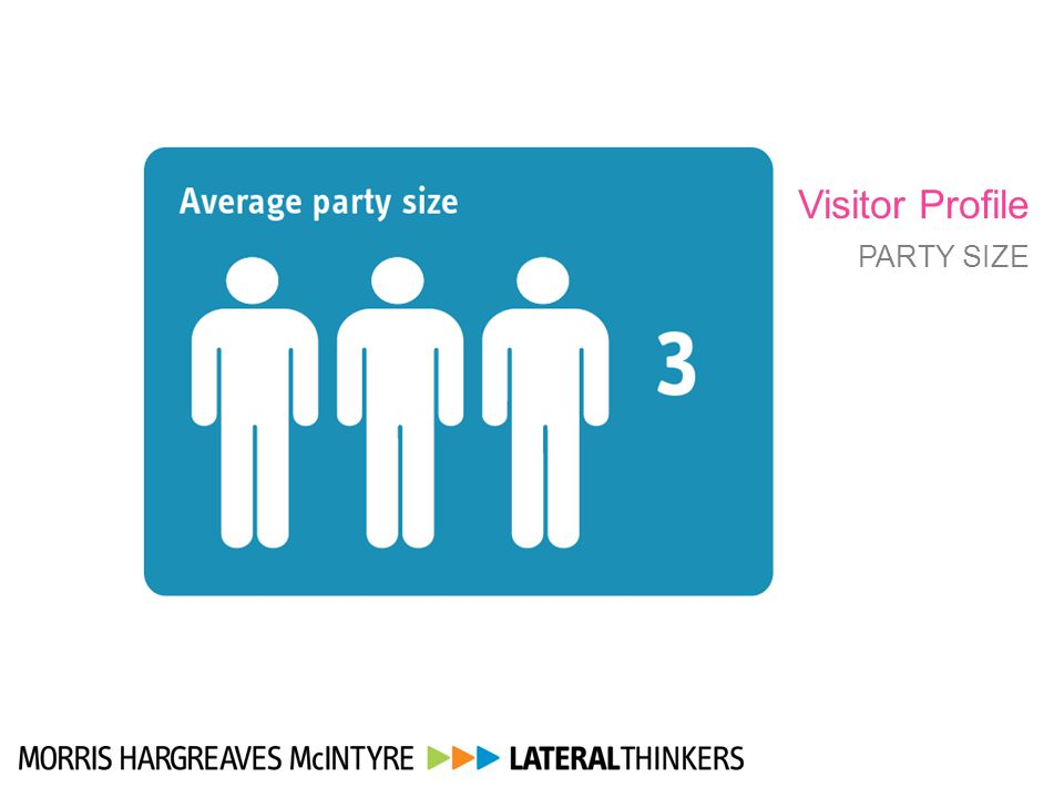 Visitor Profile PARTY SIZE