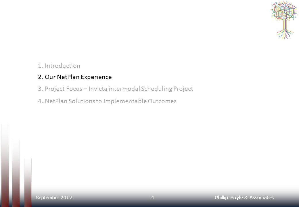 2. Our NetPlan Experience