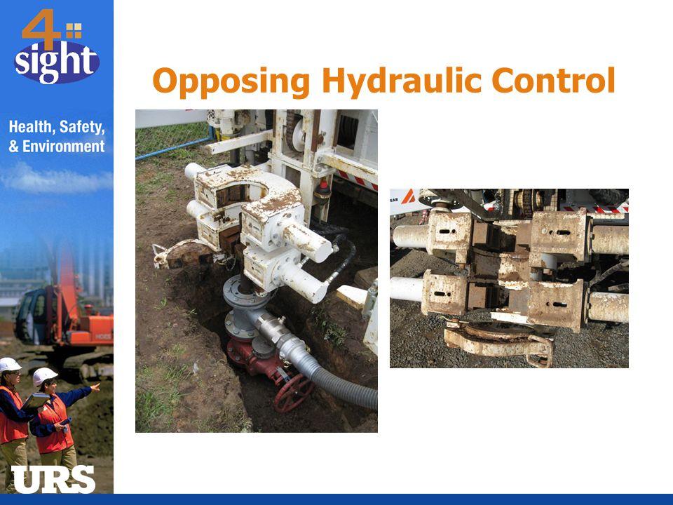 Opposing Hydraulic Control