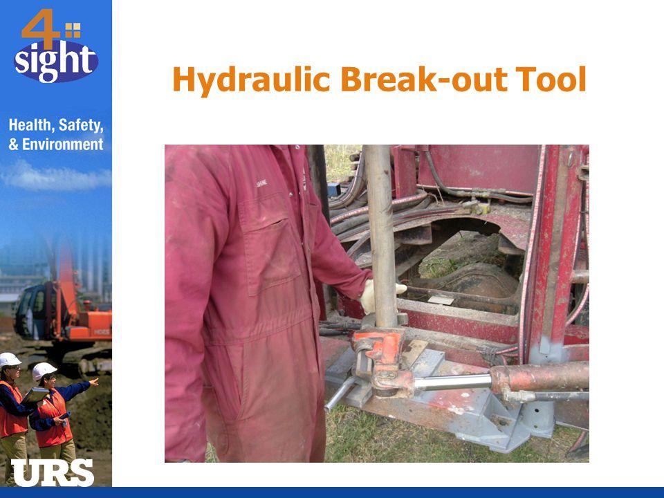 Hydraulic Break-out Tool