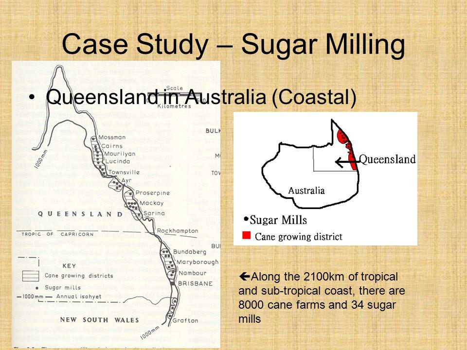 Case Study – Sugar Milling