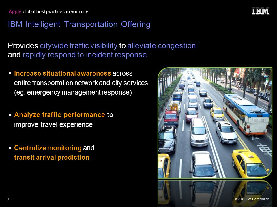 IBM Intelligent Transportation Offering