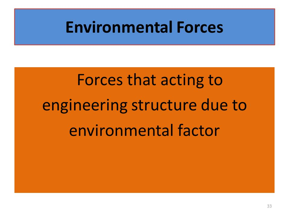 engineering structure due to