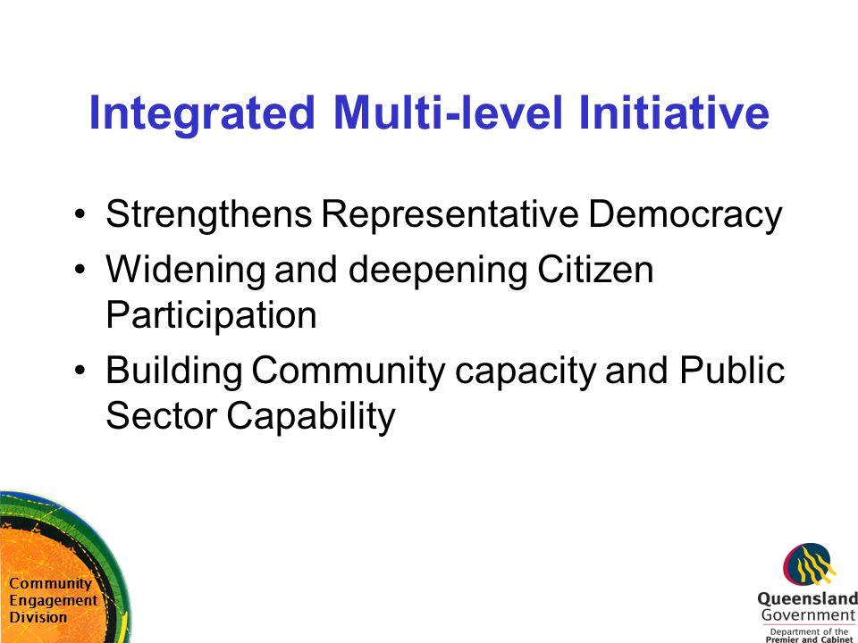 Integrated Multi-level Initiative