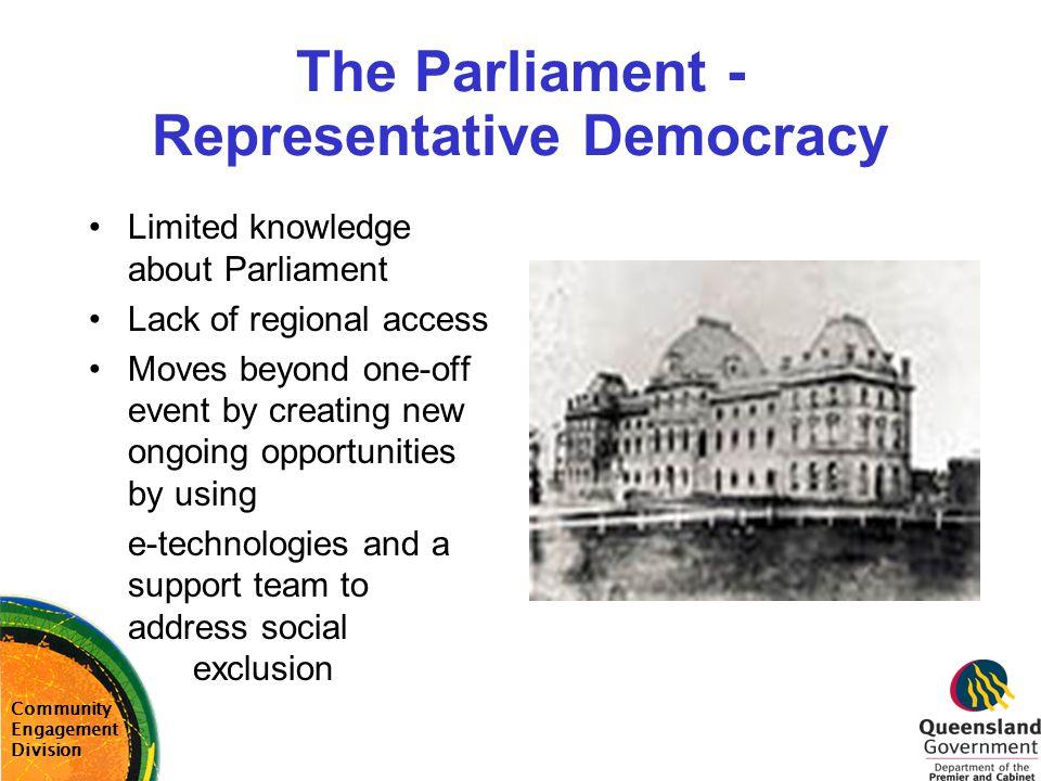 The Parliament - Representative Democracy