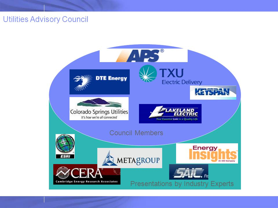 Utilities Advisory Council
