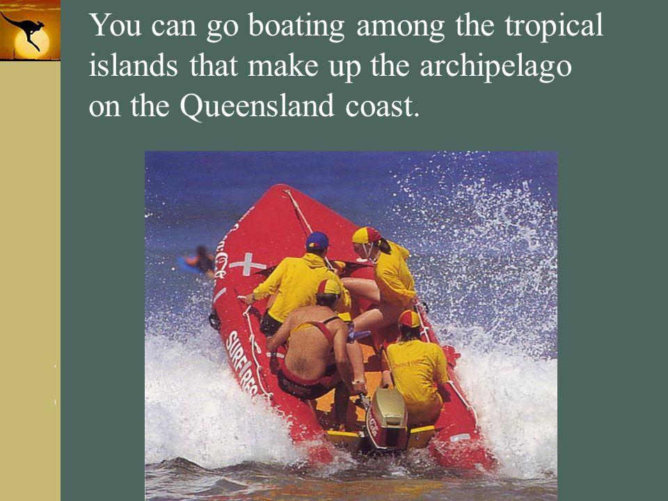 on the Queensland coast.