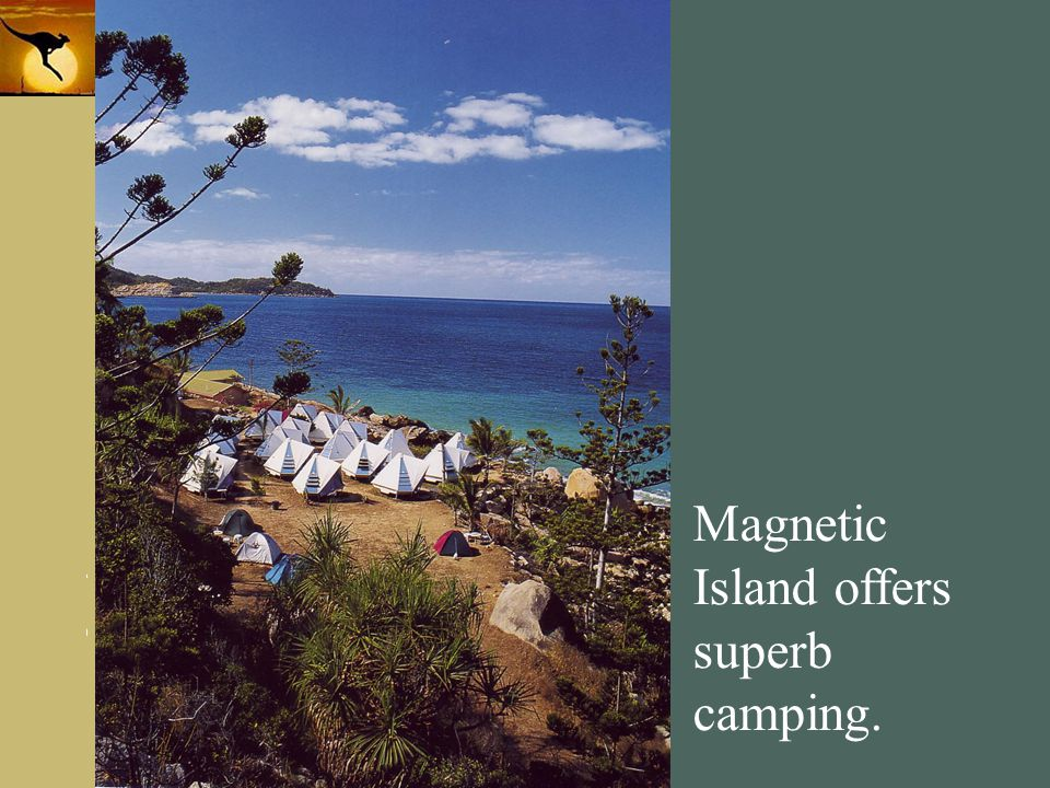 Magnetic Island offers superb camping.