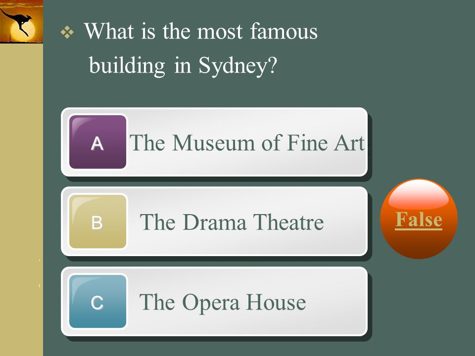 building in Sydney The Museum of Fine Art The Drama Theatre